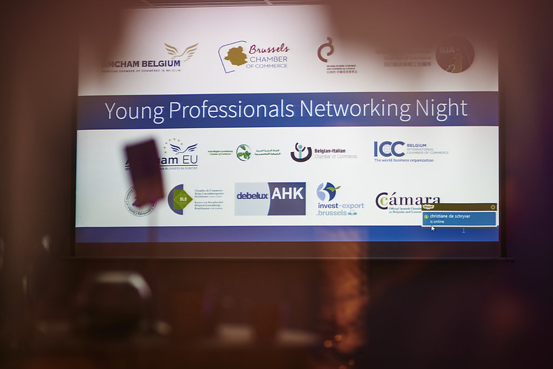 Photo: Cross-Chamber's Third Young Professional Networking Night