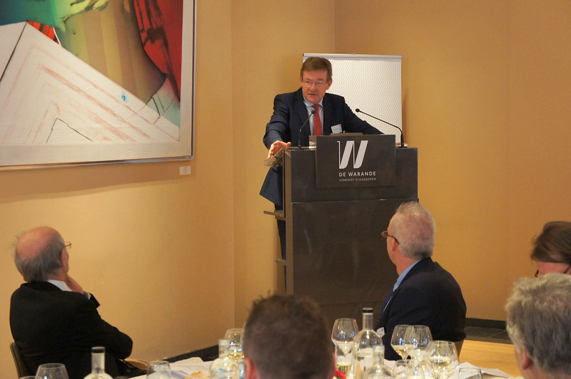 Photo: Exclusive Business Luncheon with H.E. Minister Johan Van Overtveldt, Federal Minister of Finance, on Belgian Tax Reforms