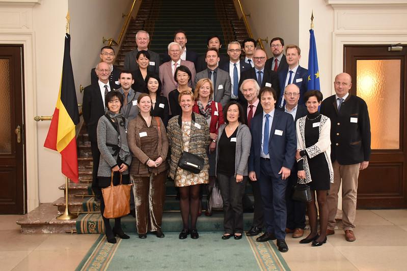 Photo: BJA特別訪問 ベルギー連邦議会議事堂