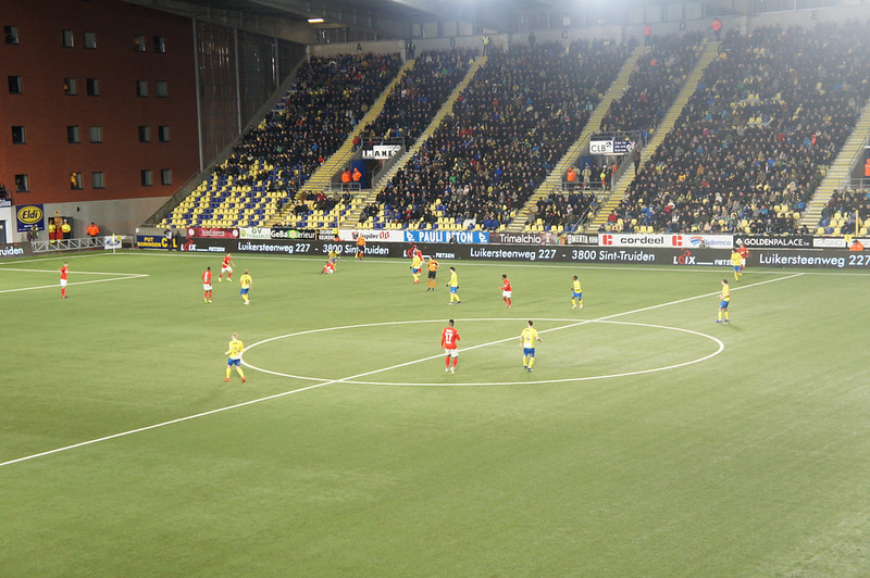 Photo: BJA Exclusive night at STVV vs Standard de Liege Football Match