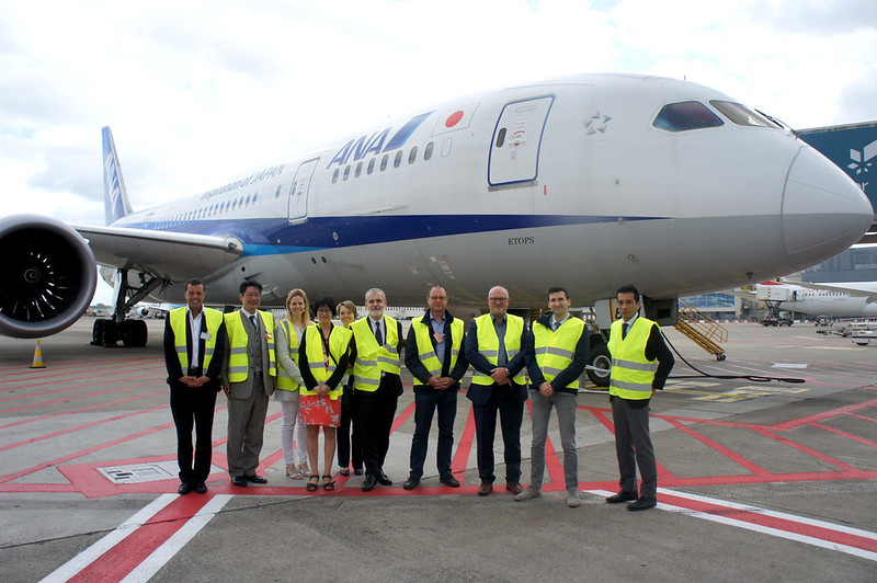 Photo: Exclusive Tasting of ANA Catering & Visit of the ANA B787 Dreamliner