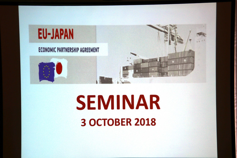 Photo: EU-Japan Economic Partnership Agreement Seminar