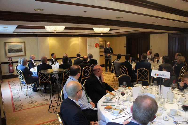 Photo: BJA Exclusive Luncheon with H.E. Ambassador Hajime Hayashi, Japanese Ambassador to Belgium and NATO