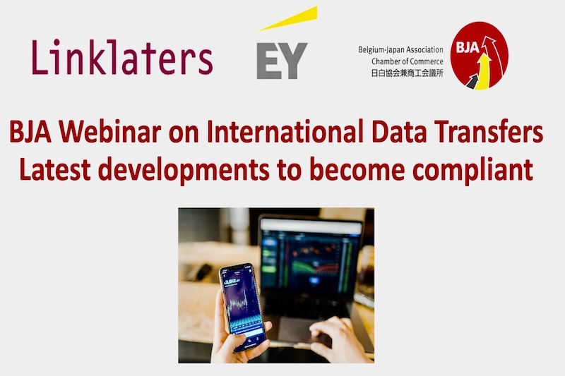 Photo: Pictures of the BJA Webinar on International Data Transfers - Latest developments to become compliant