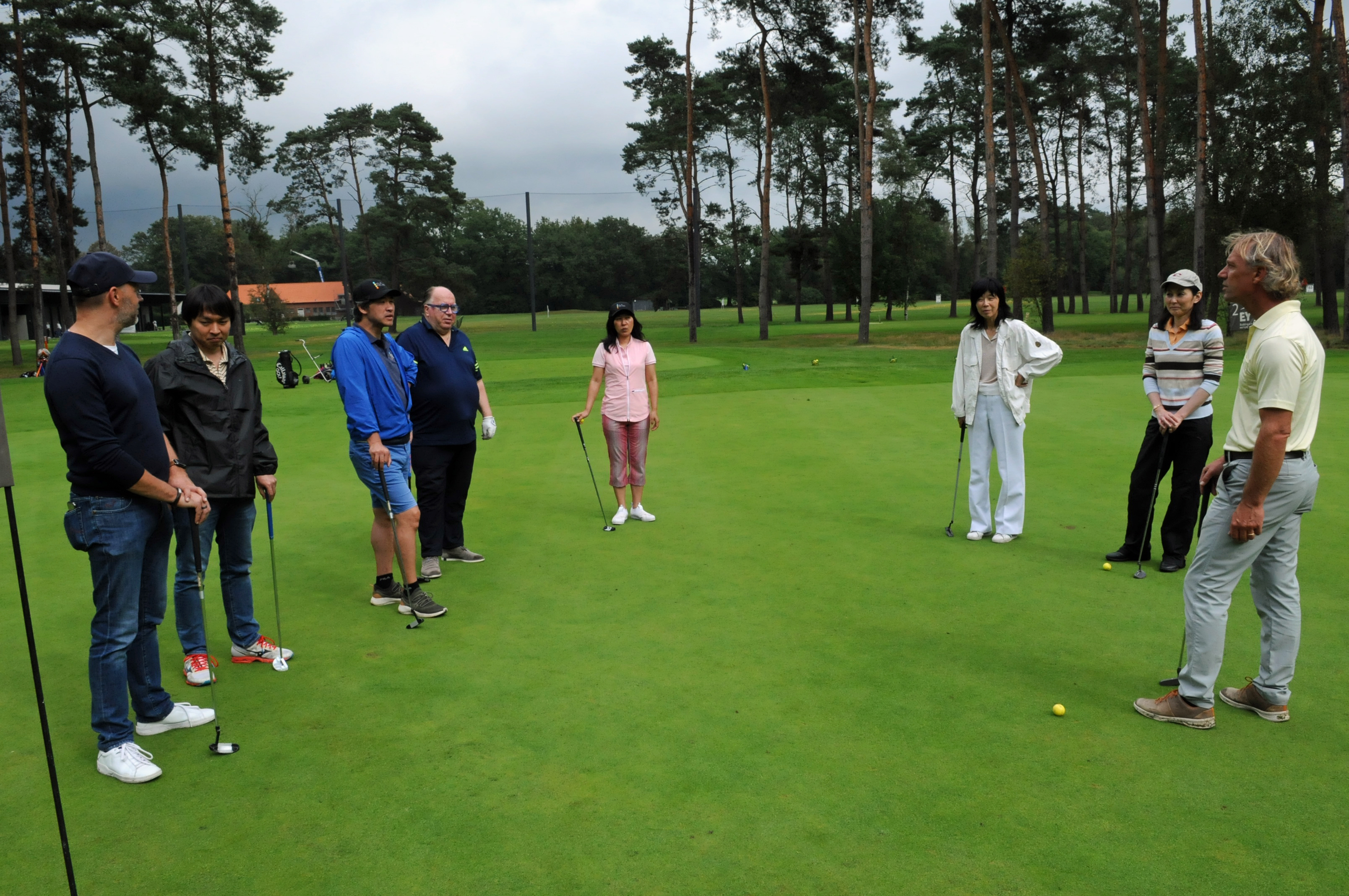 Photo: Pictures of the 2021 BJA Golf Cup & Golf Initiation
